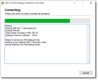 Advanced Disk Catalog to WinCatalog Converter Step 3